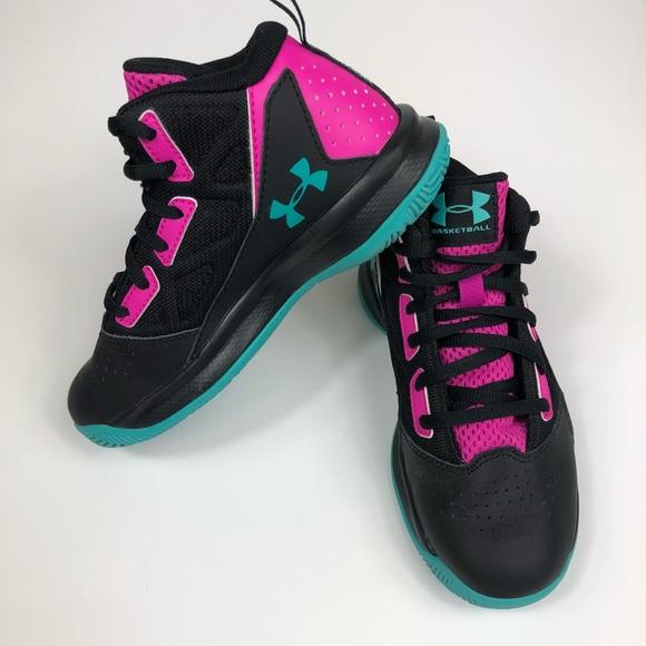 2b8bee84502 UNDER ARMOUR girls basketball shoes Jet Mid 12.5. M 5b04644b3afbbde84e126da7